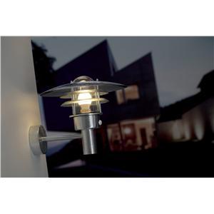 Billede 1 af Nordlux Lønstrup 32 væg galv. sensor
