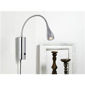 Billede 1 af Nordlux Mento LED væglampe krom