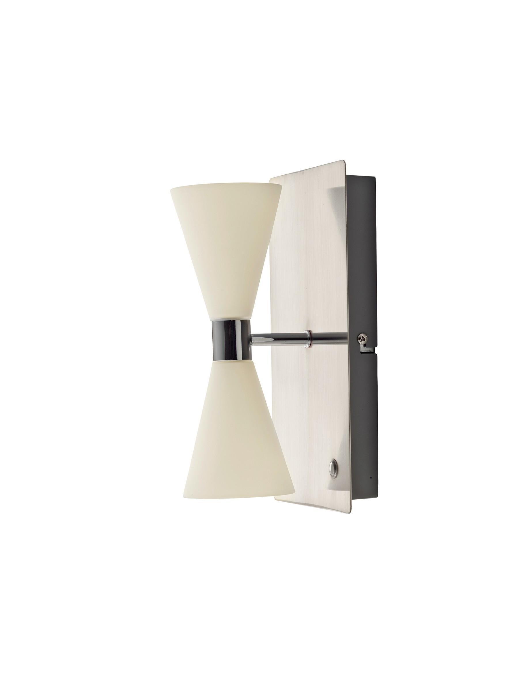 Herstal Razz Mini Harlekin V u00e6glampe Med D u00e6mper Og LED