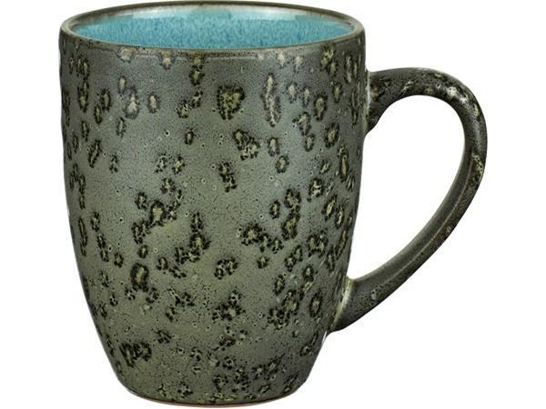 Fremragende Bitz Krus Dia. 8,5 x 10 cm 30 cl Grøn/Lysblå TG46