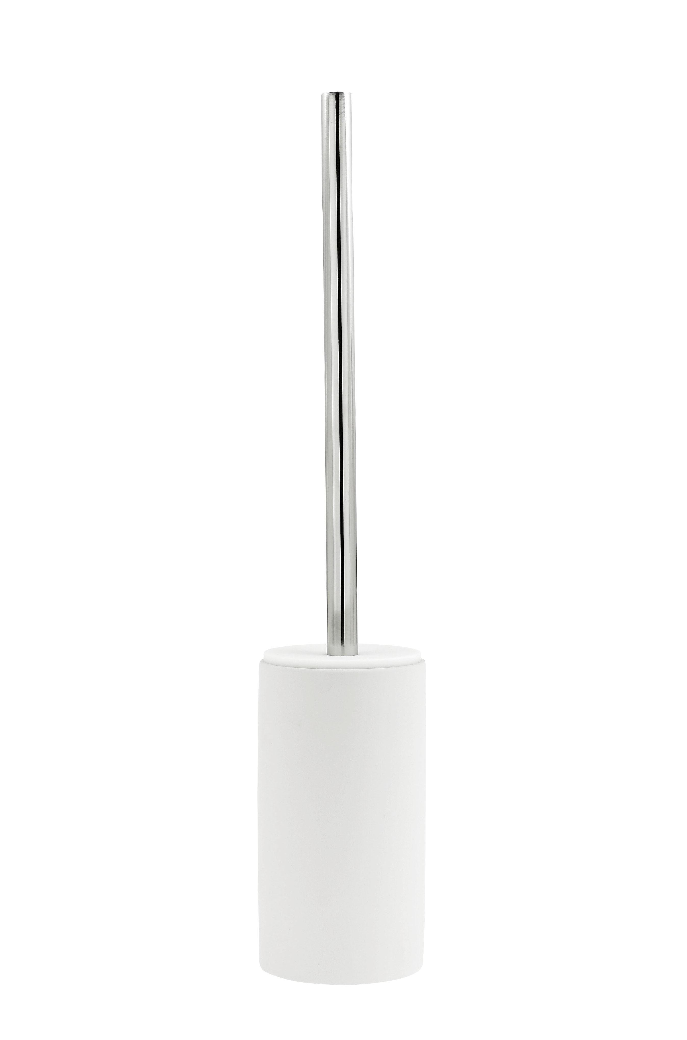 Zone Cylinder Toiletbørste Hvid